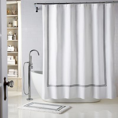 Wamsutta 174 Baratta Stitch Shower Curtain Bed Bath Amp Beyond