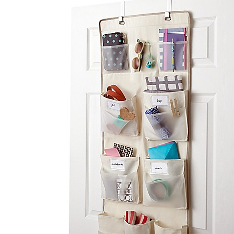 Buy real simple 29 pocket over the door multipurpose for Door organizer