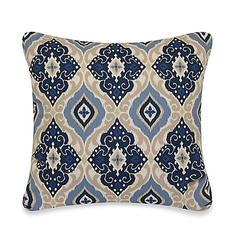 Jabari Throw Pillow in Blue - BedBathandBeyond.com