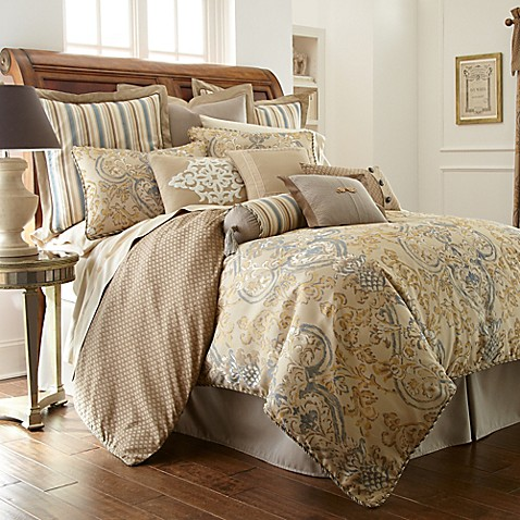 Waterford 174 Linens Harrison Reversible Comforter