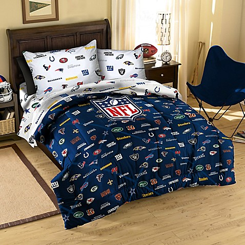 Nfl All League Twin Full Comforter Bed Bath Amp Beyond