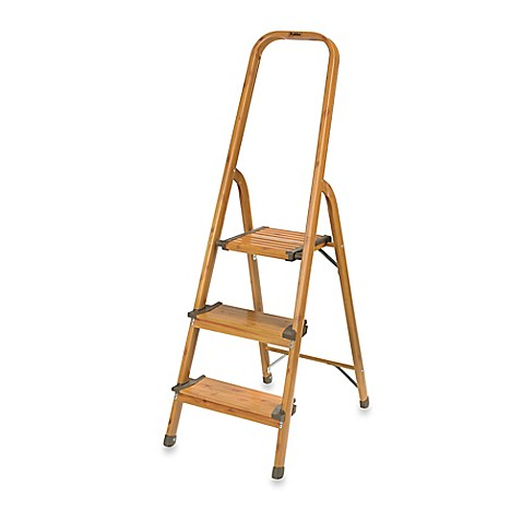Polder 174 3 Step Ultralight Ladder Bed Bath Amp Beyond