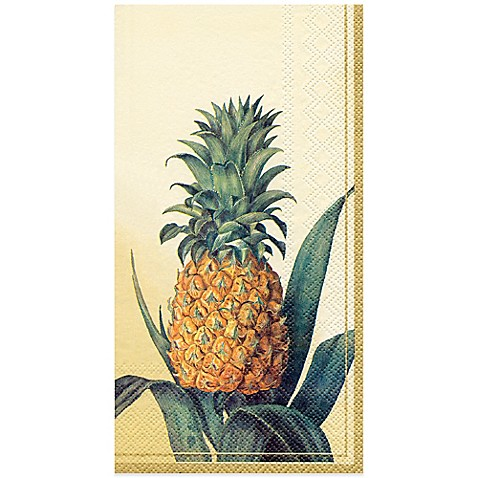Pineapple 16 Pack Disposable Guest Towels Bed Bath Amp Beyond