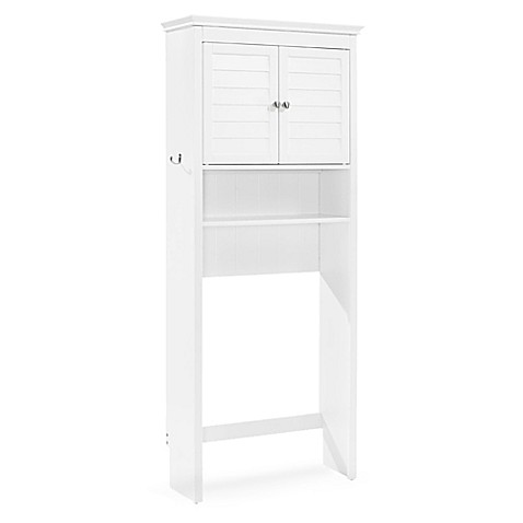 Buy Crosley Lydia Space Saver Cabinet In White From Bed Bath Beyond