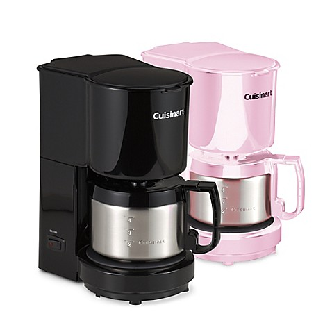 Cuisinart 4 Cup Coffee Maker With Stainless Steel Carafe