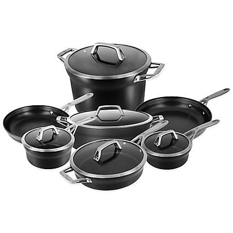 zwilling j a henckels motion 12 piece cookware set and open stock collection bed bath beyond. Black Bedroom Furniture Sets. Home Design Ideas
