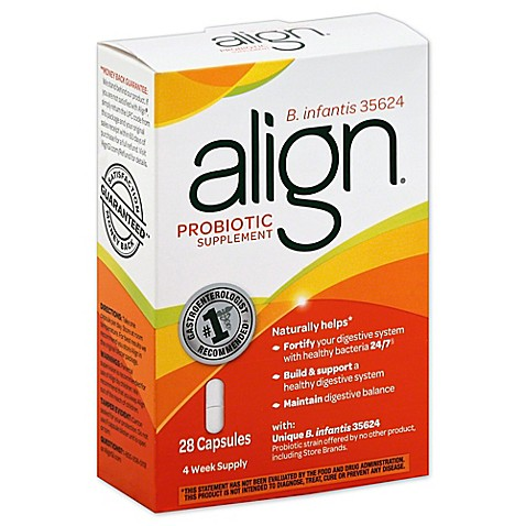 Align 174 28 Count Probiotic Supplement Capsules Bed Bath