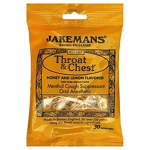 Buy Jakemans Throat & Chest 30-Count Menthol Lozenges in ...