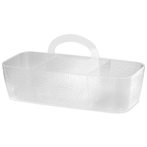 InterDesign® Rain Large Divided Shower Tote at Bed Bath & Beyond in Cypress, TX | Tuggl