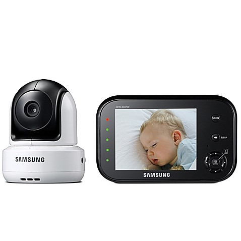samsung safeview video baby camera and monitor with 3 5 inch color lcd screen. Black Bedroom Furniture Sets. Home Design Ideas