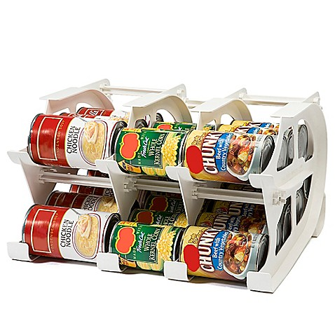 Fifo Mini Can Tracker Food Storage Organizer Bed Bath