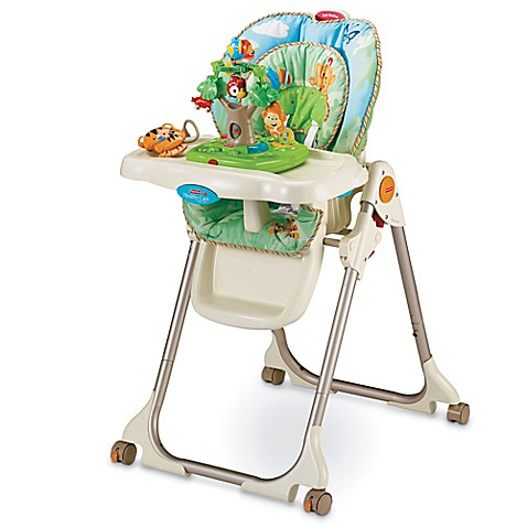 Amp feeding gt high chairs gt high chairs gt fisher price 174 rainforest