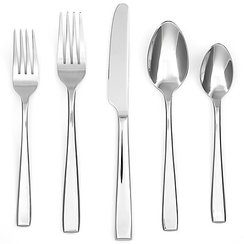 Cambridge 174 Silversmiths Logan Mirror 40 Piece Flatware Set