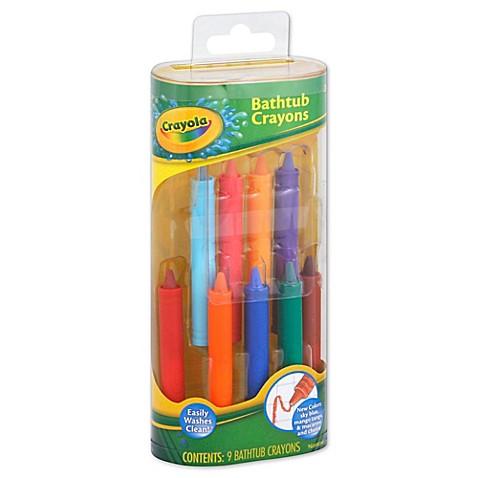 Crayola 174 9 Pack Bathtub Crayons Buybuy Baby