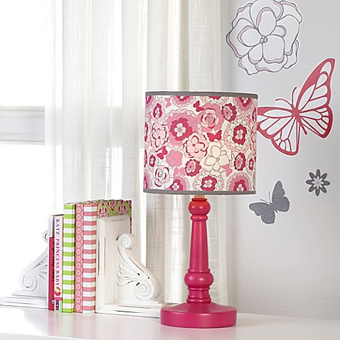 nojo butterfly bouquet table lamp and shade. Black Bedroom Furniture Sets. Home Design Ideas
