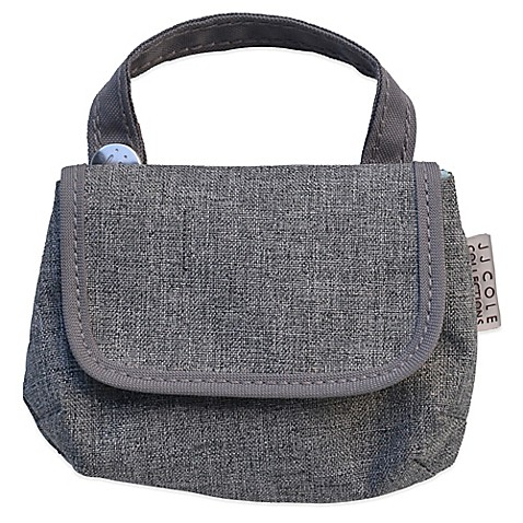 diaper bag accessories jj cole pacifier pod in grey heather from buy buy baby. Black Bedroom Furniture Sets. Home Design Ideas