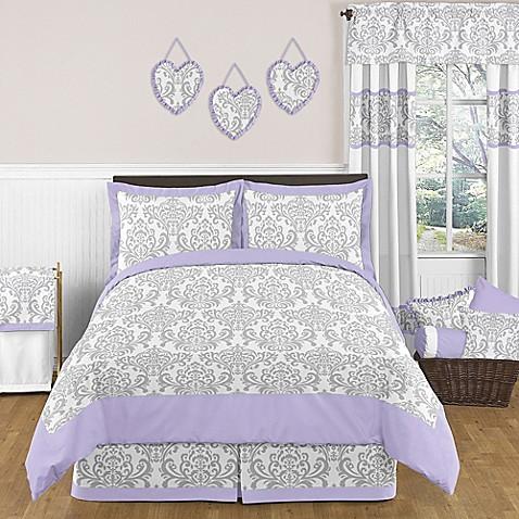 Sweet jojo designs elizabeth bedding set bed bath beyond for Sweet jojo designs bathroom