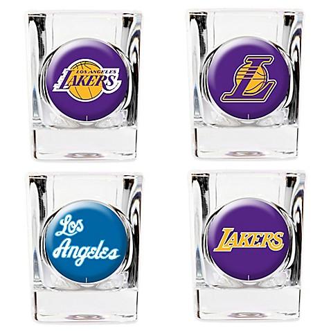 Nba Los Angeles Lakers Shot Glasses Set Of 4 Bed Bath
