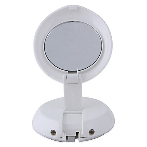 Zadro™ 1X/10X LED Lighted Compact Magnification Mirror ...