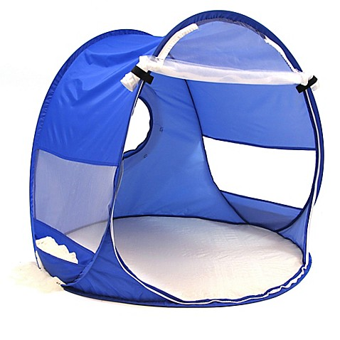 Redmond Beach Baby Pop Up Shade Dome In Blue Bed Bath