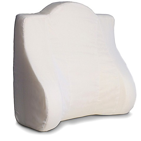 Back Buddy 174 Support Pillow In White Buybuy Baby
