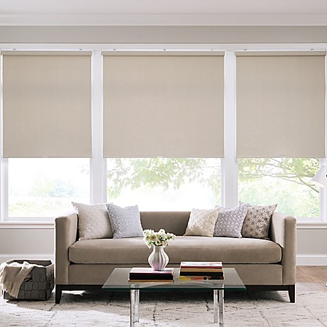 Real Simple® Cordless Roller Shade at Bed Bath & Beyond in Cypress, TX | Tuggl