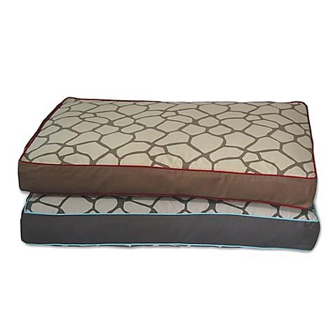 EZ Living Home Giraffe Memory Foam Water Repellent Pet Pillow Bed Bed Bath