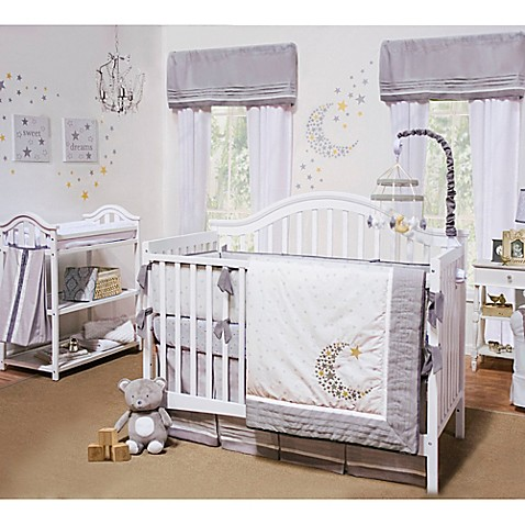 Petit Tresor Nuit Crib Bedding Collection > Petit Tresor ...