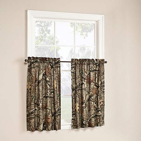 Buy Mossy Oak Break Up Infinity 36 Inch Window Curtain