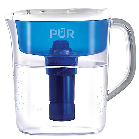 Pur 174 Ultimate 11 Cup Water Filtration Pitcher Bed Bath