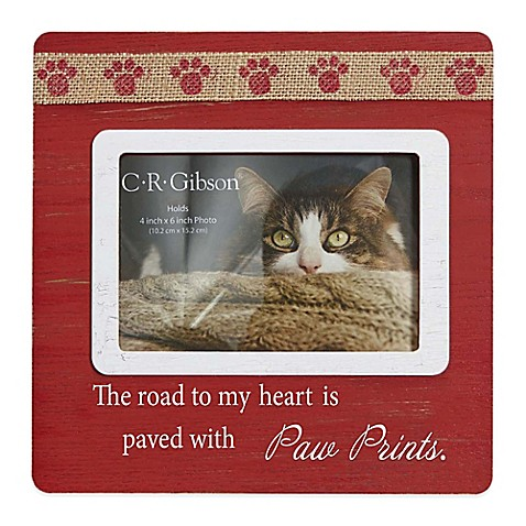 "CR Gibson ""The Road To My Heart"" Wood Frame at Bed Bath & Beyond in Cypress, TX 