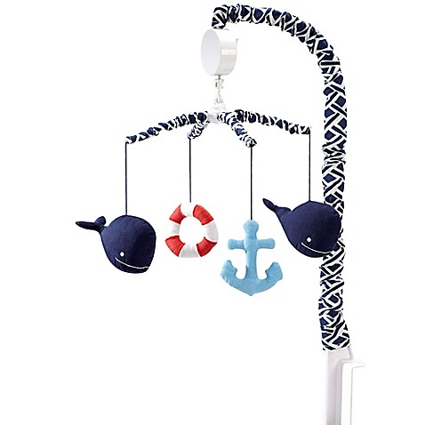Nautica Kids 174 Whale Of A Tale Musical Mobile Buybuy Baby