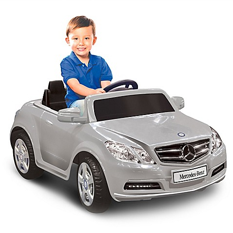 Kid motorz mercedes benz e550 1 seater 6 volt ride on in for Mercedes benz kids