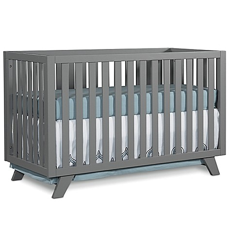 buy child craft soho 4 in 1 convertible crib in grey from