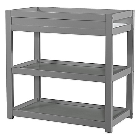 Child craft soho changing table in grey bed bath beyond for Child craft changing table