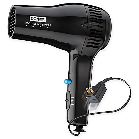 ConairR Cord KeeperR Ion ShineTM Hair Dryer