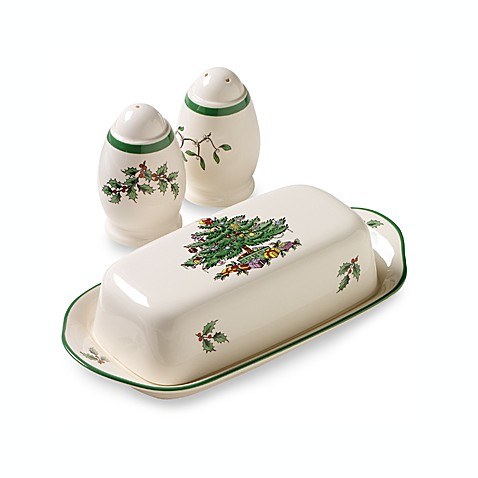 Spode Christmas Tree Hostess Set Bed Bath Beyond