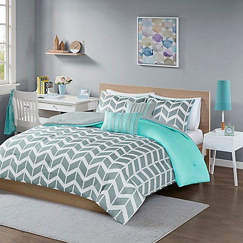 Nadia Reversible Comforter Set Bed Bath Amp Beyond