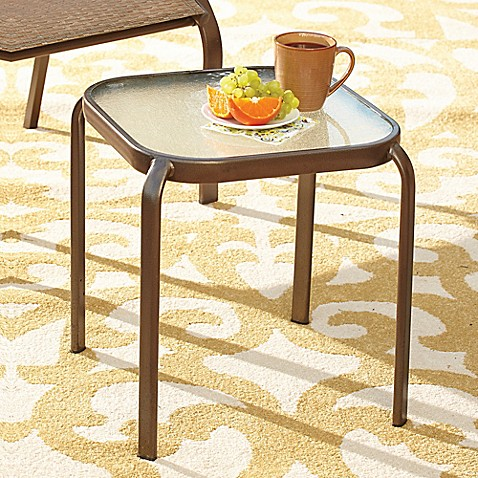 Hawthorne Glass Top Accent Table Bed Bath Amp Beyond
