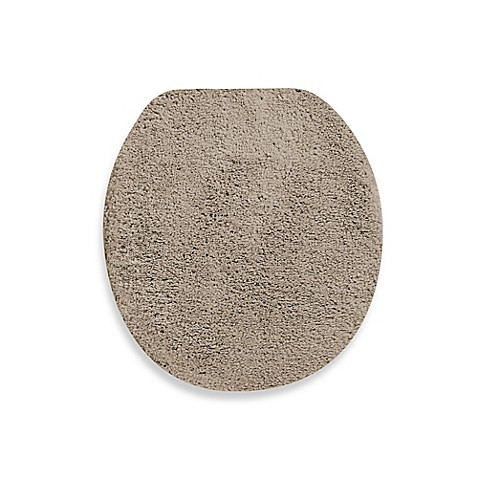 buy wamsutta perfect soft universal toilet lid cover in taupe from bed bath beyond. Black Bedroom Furniture Sets. Home Design Ideas