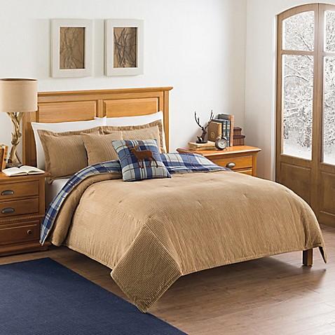 Ellery homestyles studio hudson corduroy reversible comforter set - Corduroy bedspreads ...