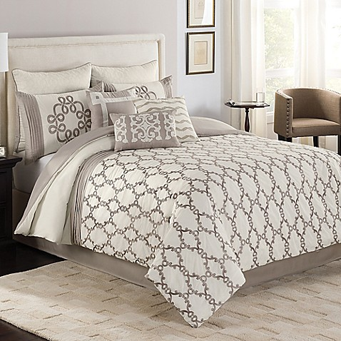 Ashlyn comforter set bed bath beyond - Bed bath and beyond bedroom furniture ...