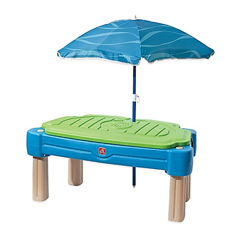 step2 cascading cove water table with umbrella bed bath beyond. Black Bedroom Furniture Sets. Home Design Ideas