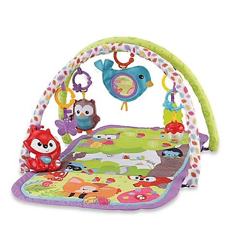 Fisher Price 174 3 In 1 Musical Activity Gym Bed Bath Amp Beyond