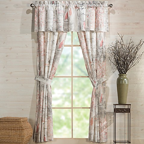 Under The Canopy Lover Window Curtain Panel And Valance Bed Bath Beyond