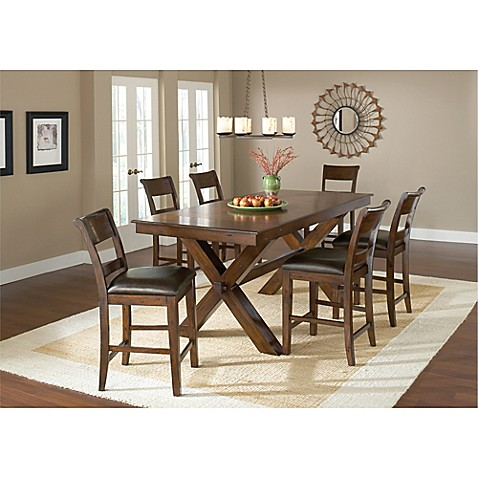 Hillsdale Park Avenue Counter Height Dining Table And