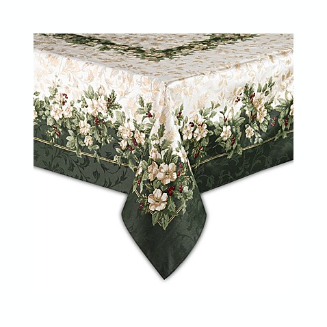 Buy Joyous Holiday 60 Inch X 84 Inch Oblong Tablecloth