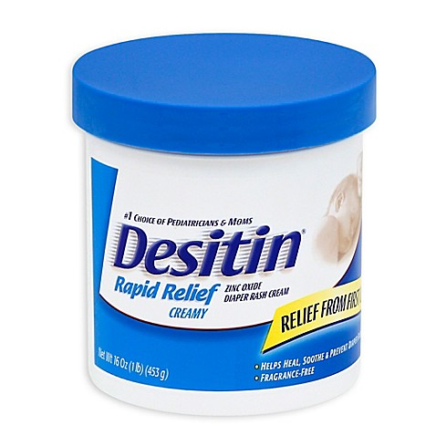 buy desitin rapid relief creamy 16 oz diaper rash cream from bed bath beyond. Black Bedroom Furniture Sets. Home Design Ideas