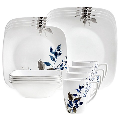 corelle boutique kyoto night 16 piece dinnerware set corelle s kyoto