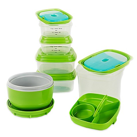 Fit and fresh containers